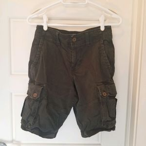 American Eagle Outfitters grey mens cargo shorts